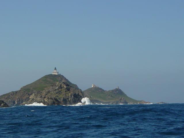 Monts sur mer Corse