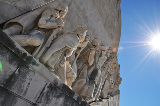 Monument des découvertes Lisbonne Portugal