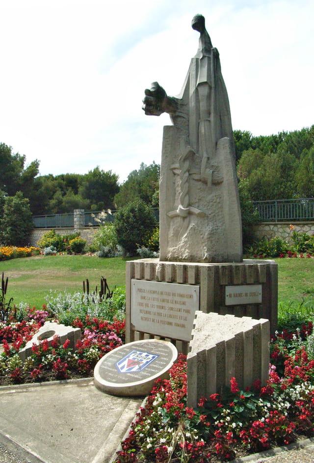 Monument en hommage aux déportés