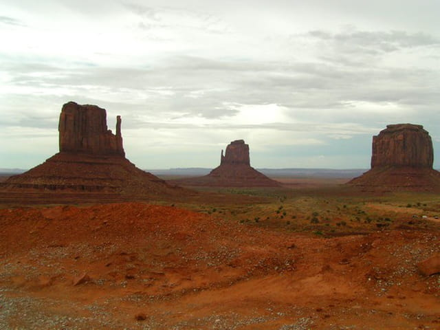 Monument Valley sans Indiens