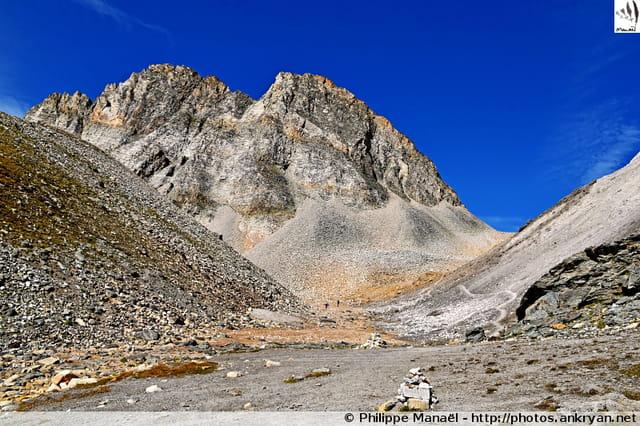 Moraine du glacier de Gébroulaz