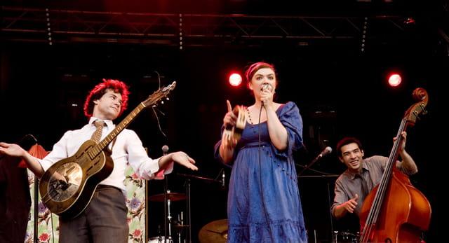 Moriarty en concert à la fête de la musique