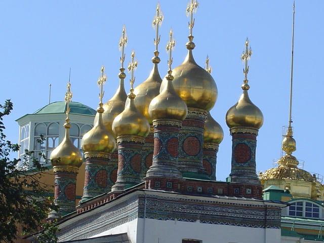 Moscou - par dessus les toits