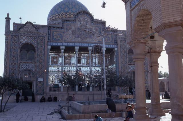 Mosquée à Qazvin