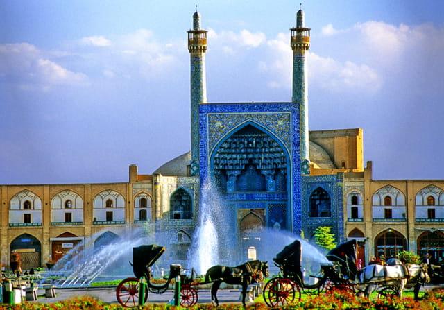 Mosquée de l' Imam, portail d'entrée.