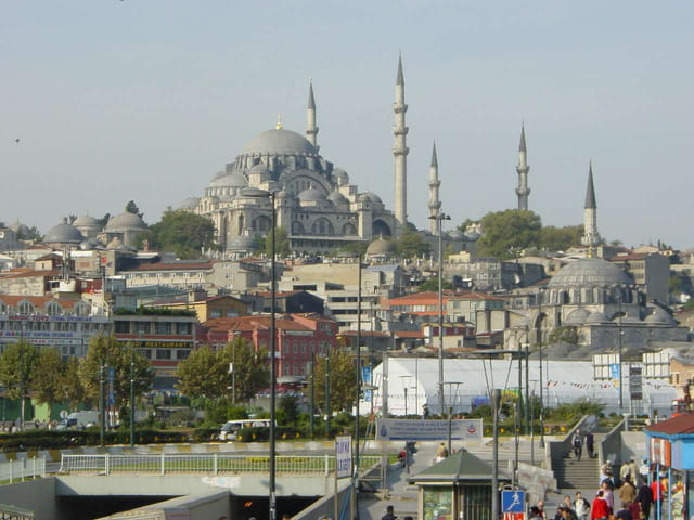 Mosquée de suleiman