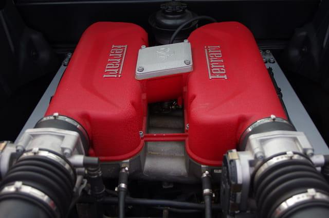 Moteur de Ferrari