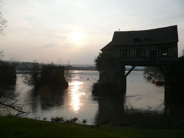 Moulin de Vernon au couchant