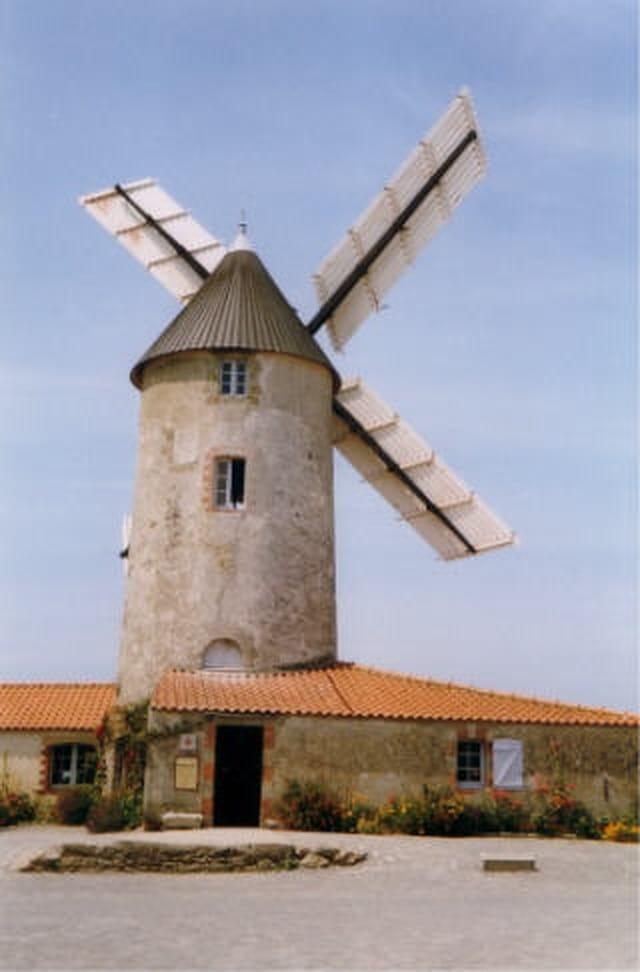 Moulin en activité