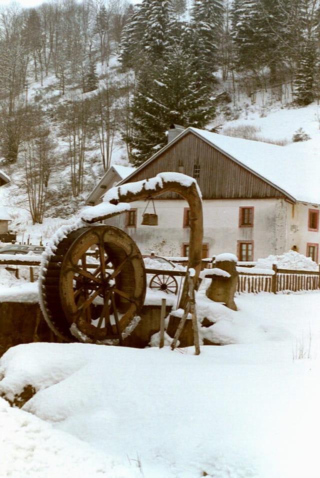 Moulin Enneigé