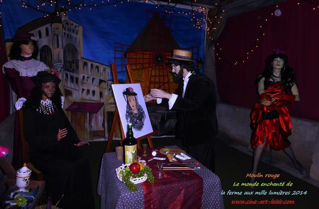 Moulin rouge  à la ferme aux mille lumières 2014 JC Guerguy