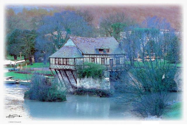 Moulin sur Seine ... Vernon, Eure,27
