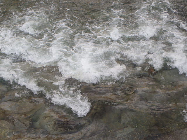 Mouvements dans l'eau
