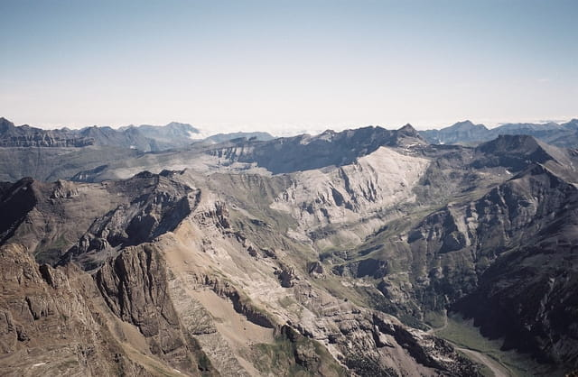 Mt perdu, vue cirque de Troumouse