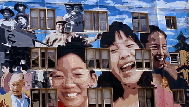 Mur Chinatown