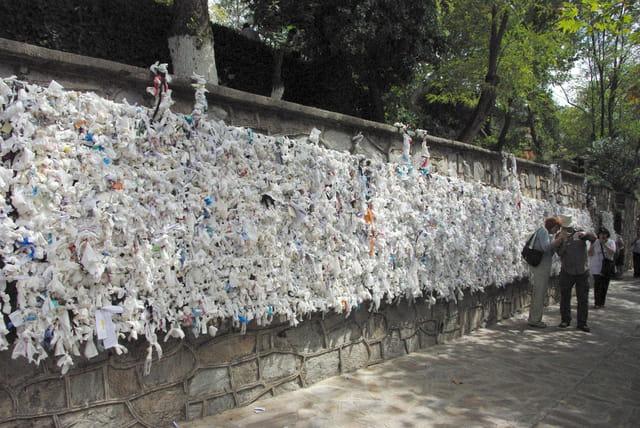 Mur de voeux, souhaits, remerciements