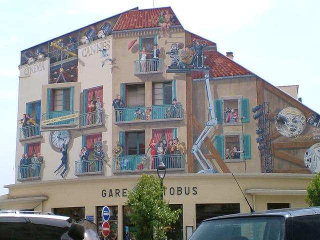 Mur du cinema
