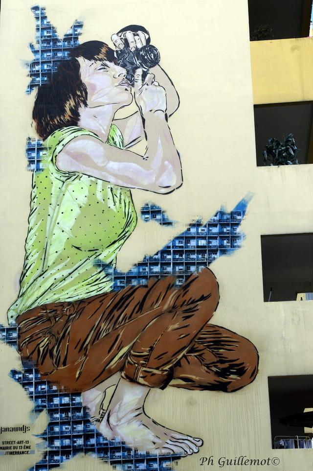 mur peint