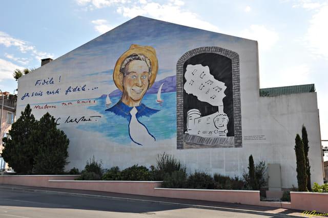 Mur peint - Charles Trenet