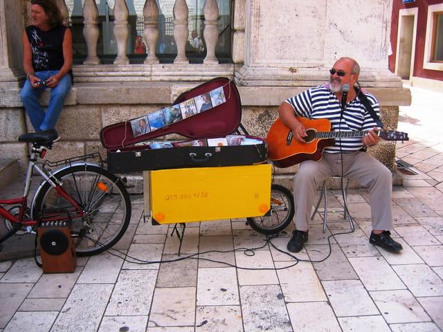 Musicien ambulant