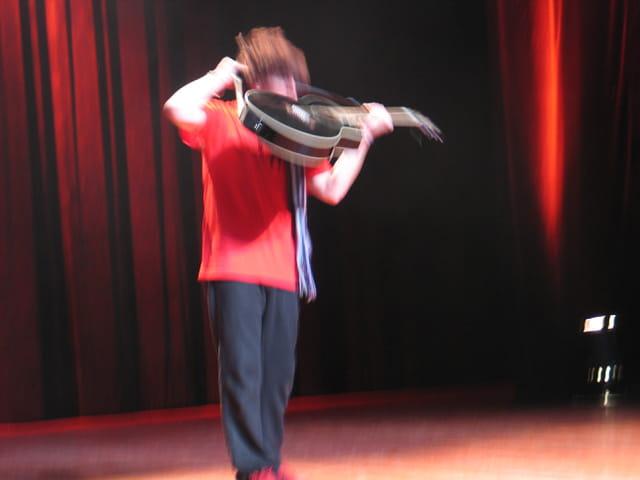 Musicien sur scène
