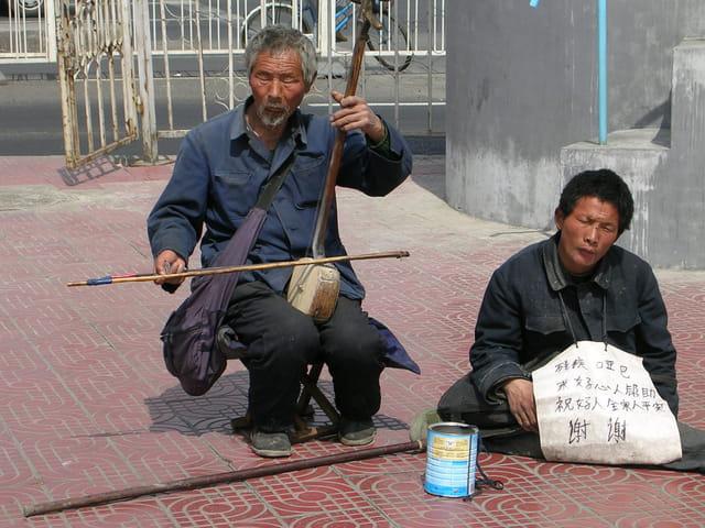 Musiciens à Beijing