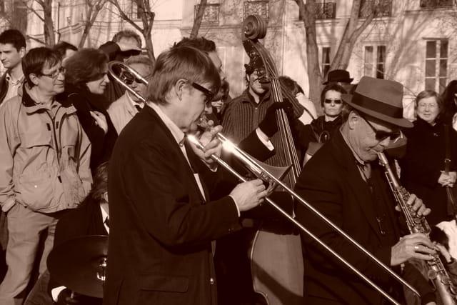 Musiciens du petit pont