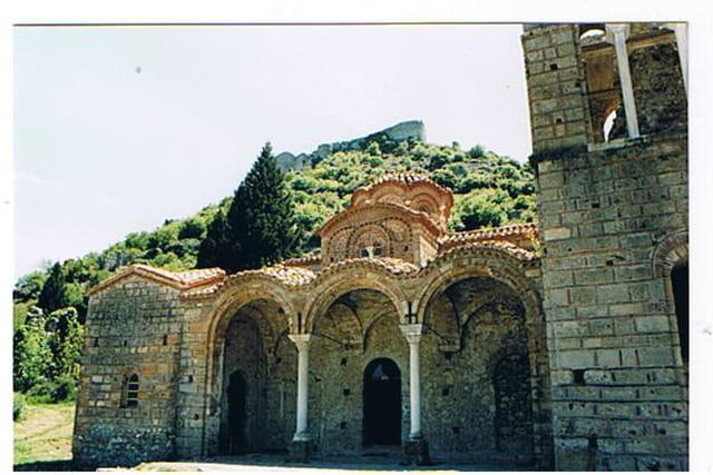 MYSTRA, la cité byzantine