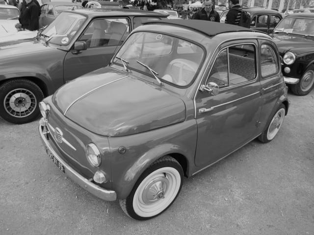 Mythique FIAT 500.