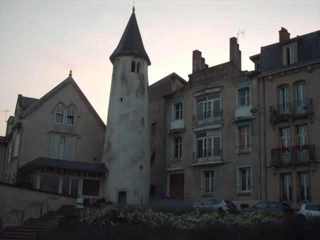 Nancy, la tour de la commanderie