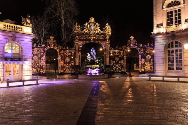 Nancy, Place Stanislas (Noel 2011)