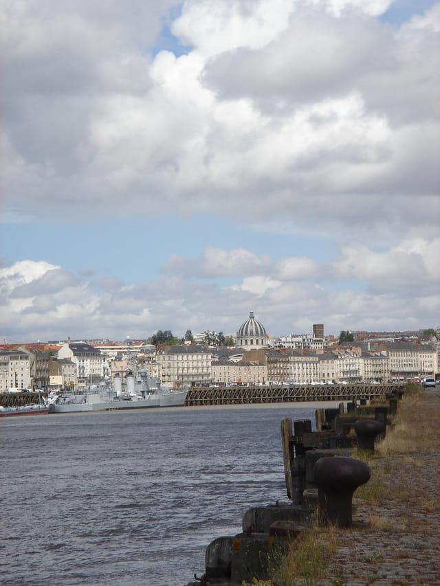 Nantes la belle vue du port
