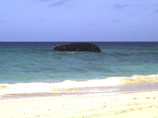 Naufrage au Cap-Vert