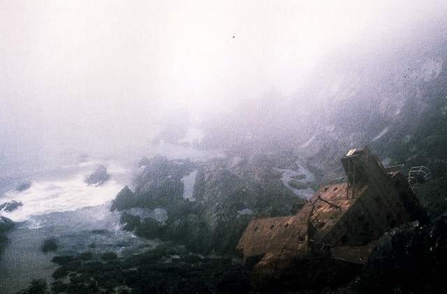 Naufragé du brouillard irlandais
