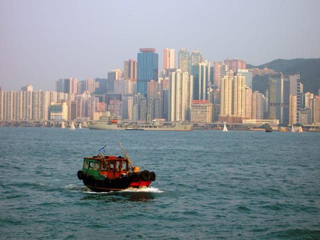 Navigation à hong kong