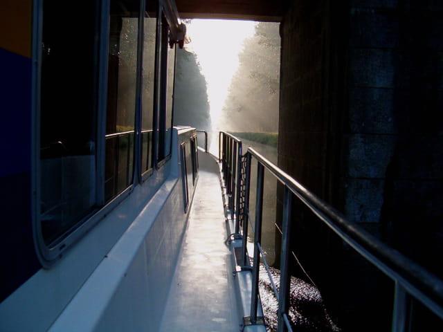 Naviguer au petit matin