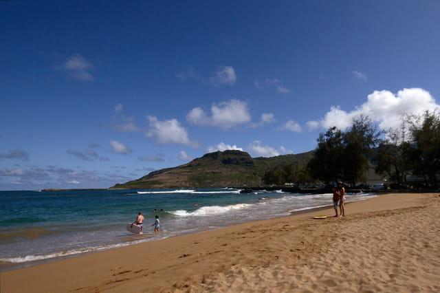 Nawiliwili beach!