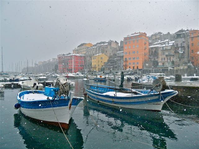 Neige à Bastia !