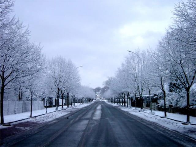 Neige à La Rochette