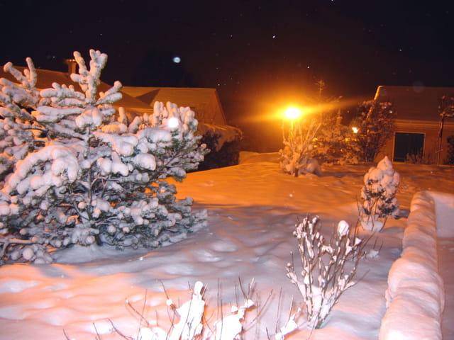 Neige à Metz