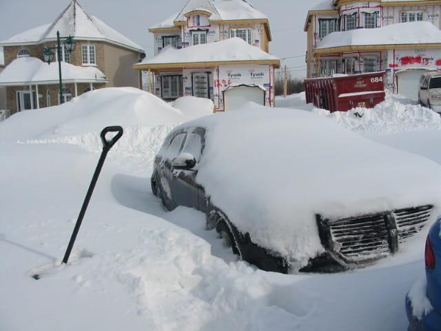 Neige au Quebec