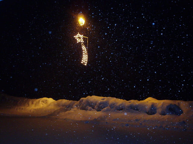 Neige de nuit