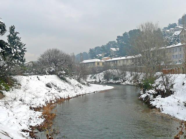 Neige en janvier 2009