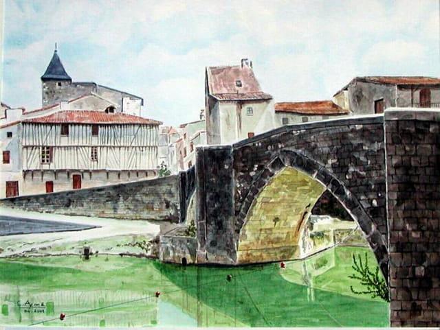 Nérac, le Pont Vieux