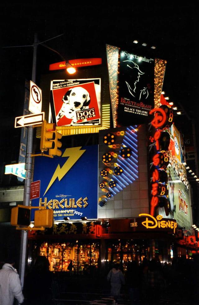 New-York time square (usa)