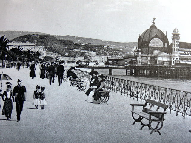Nice vers 1890