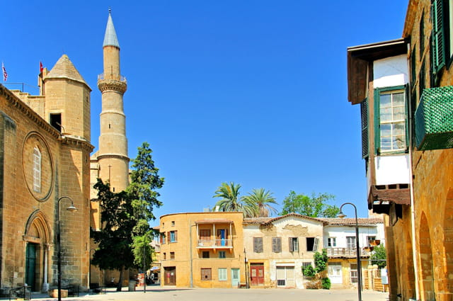 Nicosie, quartier turc.