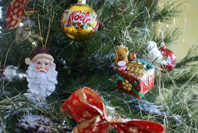 Noël 2007 - Décoration sapin