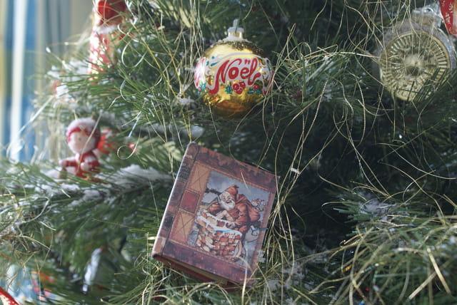 Noël 2007 - sur le sapin