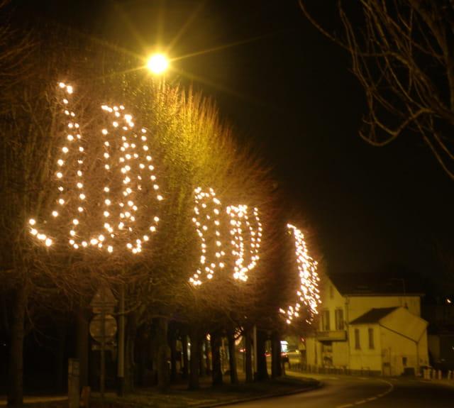 Noël 2008 au Pecq